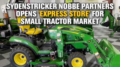 Sydenstricker Nobbe Partners Opens 'Express Store' for Small Tractor Market