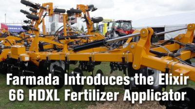 Farmada Introduces the Elixir 66 HDXL Fertilizer Applicator